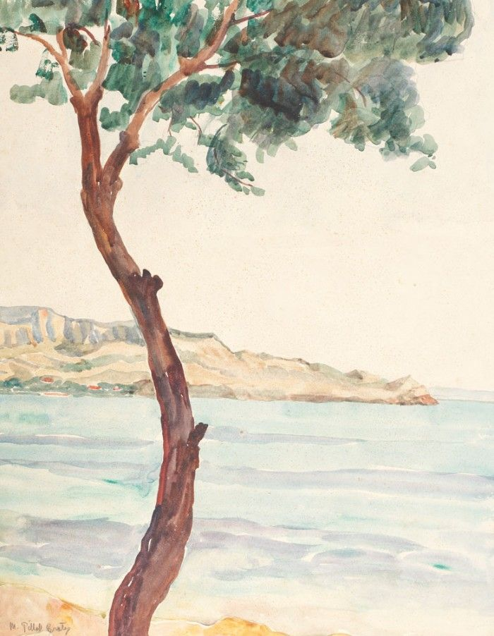 Maria Brateş Pillat, Peisaj din sudul Franţei