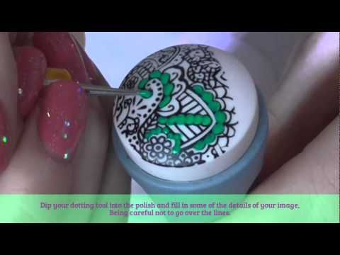 2015 Advance Nail Stamping For Beginners #2 - YouTube