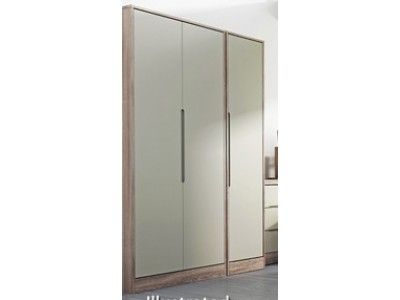 Welcome Furniture Monaco Tall Triple Plain Robe  - Wide choice of Vibrant Gloss or Calming Natural colours to mix and match £450.00