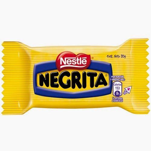 Negrita T 237 Pica Chilena Dos Galletas En El Centro Una Crema Blanca Y Su Exterior Ba 241 Ado En