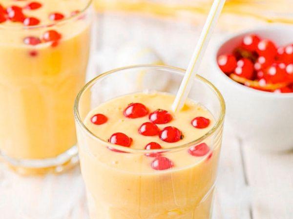 - Libelle Lekker! Ananas-mango smoothie