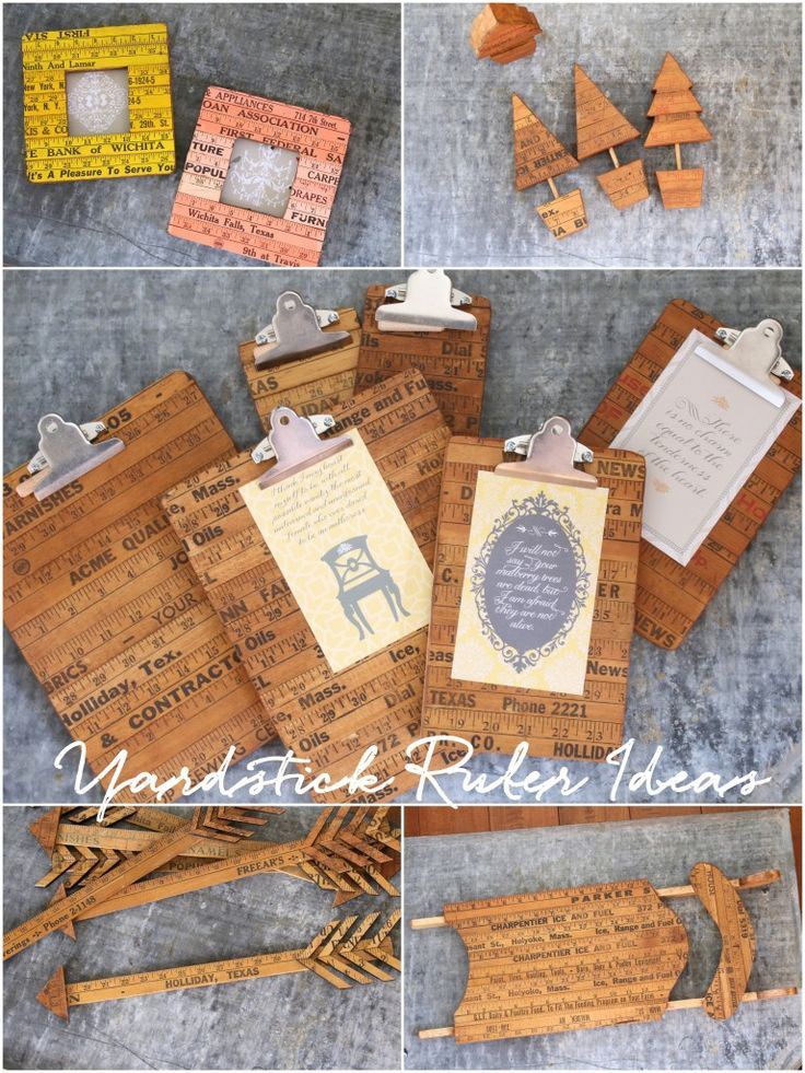 Yardstick Ruler Craft Ideas - Finding Home