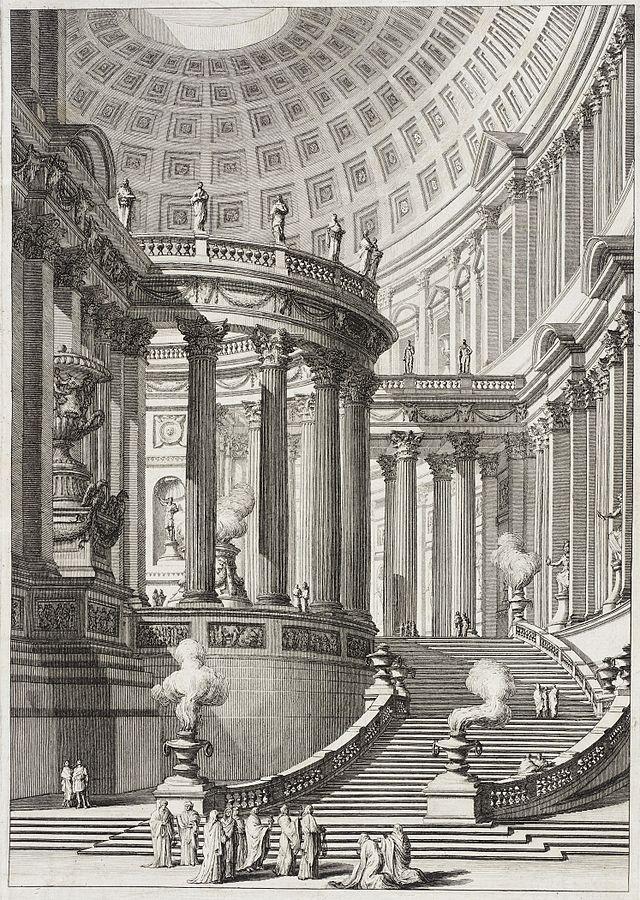 Giovanni Battista Piranesi - templo