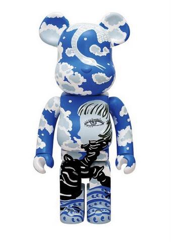 """Xiong Yu """"SKY"""" 1000% Bearbrick"""