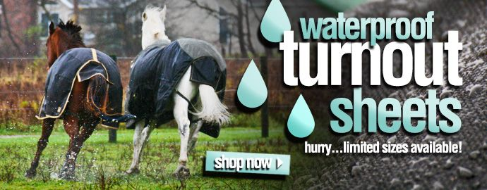waterproof turnout sheets