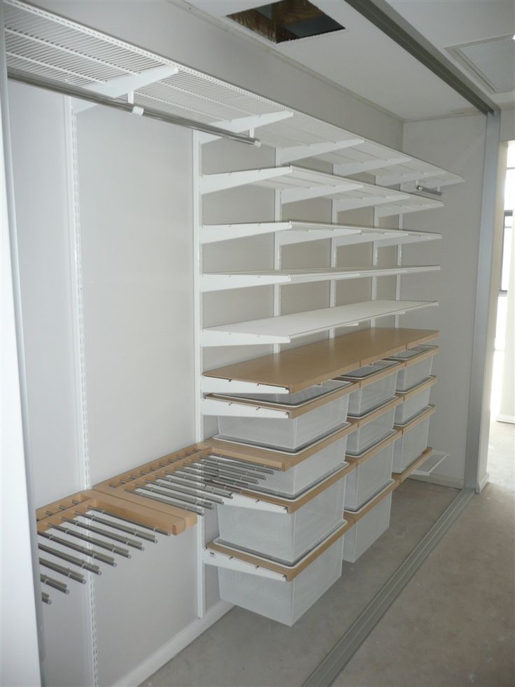 Recent Installation Of Which Mesh Baskets And Birch Timbre Pant Racks Shelves Draw Frames