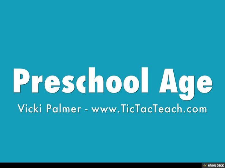 What age do most children start preschool?
