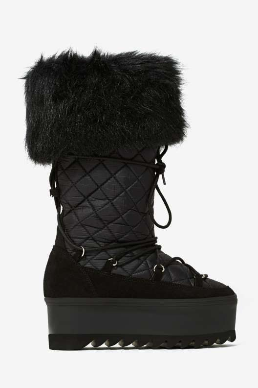 Jeffrey Campbell Hoth Quilted Rain Boot - Holiday Survival Guide