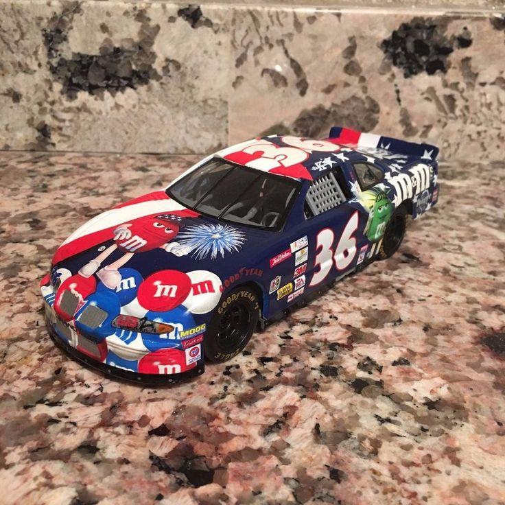 Ken Schrader No. 36 M&M's USA 1:24 Plastic Car #Pontiac