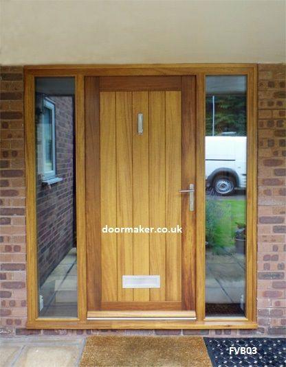 iroko contemporary door