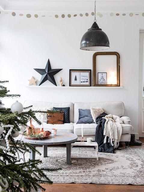 ATELIER RUE VERTE , le blog: Noël 2016 / Inspiration#1 / Une déco vintage et industrielle /