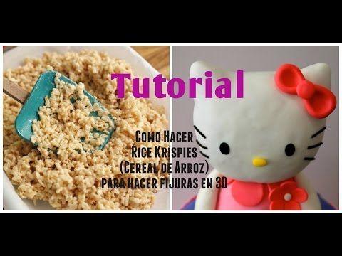 Cómo hacer Rice Krispies/Cereal de Arroz para fijuras en 3D - Madelin's Cakes…