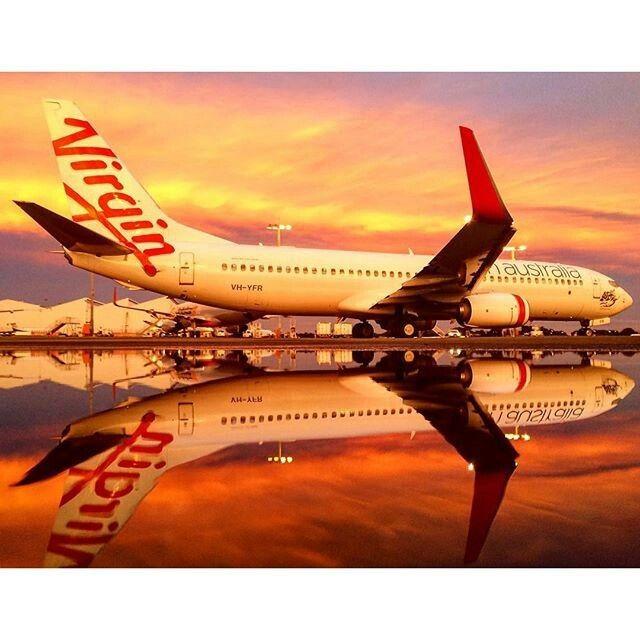 Virgin Australia B737-800