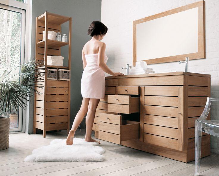 Line Art Bathroom Furniture : Entrancing solid wood vanities for bathrooms design