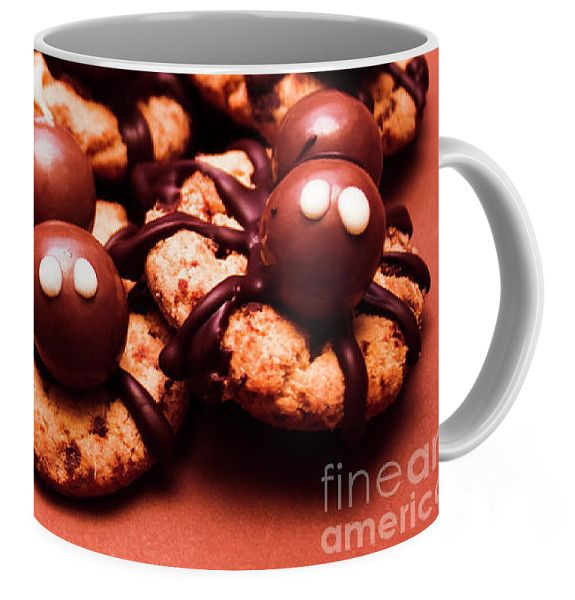 Baked Halloween Spider Cookies Coffee Mug for Sale by Jorgo Photography - Wall Art Gallery