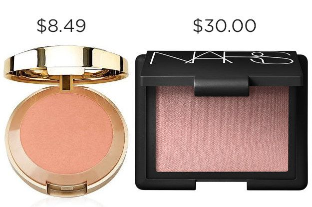 Never know when you're gonna need $21.51, so try Milani's Luminoso Baked Blush instead of NARS Orgasm.