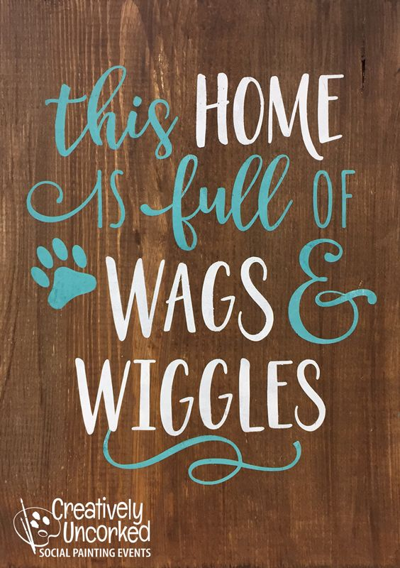 Wags and Wiggles | Creatively Uncorked | http://creativelyuncorked.com | Creatively Uncorked | http://creativelyuncorked.com