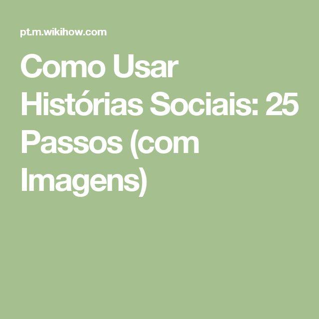 Como Usar Histórias Sociais: 25 Passos (com Imagens)