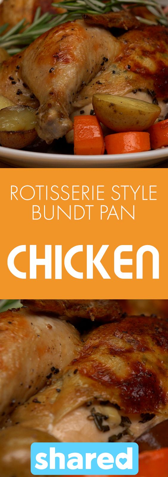 Anything that makes cooking dinner easier for me is a winner in my books. You may have made tons of one pan meals using just a baking sheet, but did you know your bundt pan has more uses than just for desserts? This Roasted Rotisserie Style Bundt Pan Chicken simplifies Sunday dinner like no other! Roast up your chicken and veggies all at once using just a bundt pan and a baking sheet to catch any extra drippings! The veggies soak up all the delicious flavor dripping from the chicken, and…
