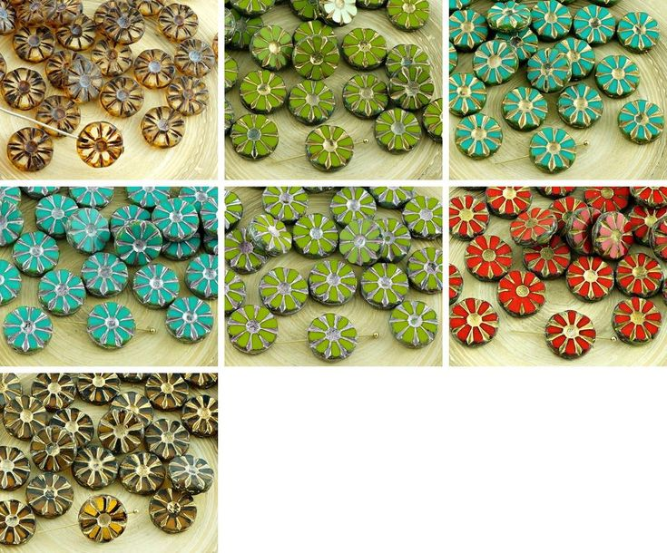 ·٠•●❂♥ 8pcs Picasso Table Cut Flower Flat Coin Czech Glass Beads 12mm https://czechbeadsexclusive.com/product/8pcs-picasso-table-cut-flower-flat-coin-czech-glass-beads-12mm-2/?utm_source=PN&utm_medium=czechbeads&utm_campaign=SNAP #CzechBeadsExclusive #czechbeads #glassbeads #bead #beaded #beading #beadedjewelry #handmade