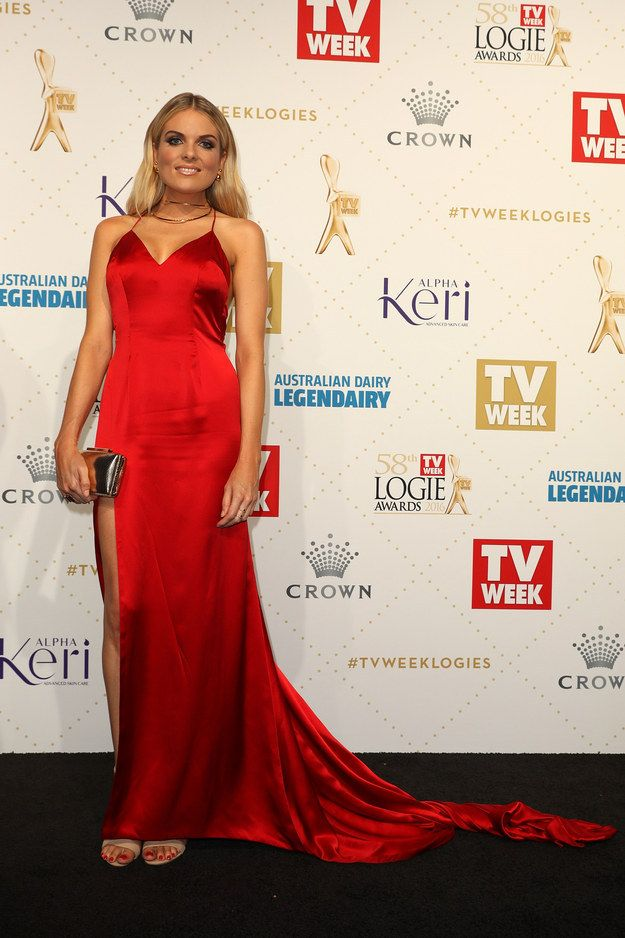 Erin Molan | Here's What Everyone Wore To The 2016 Logies