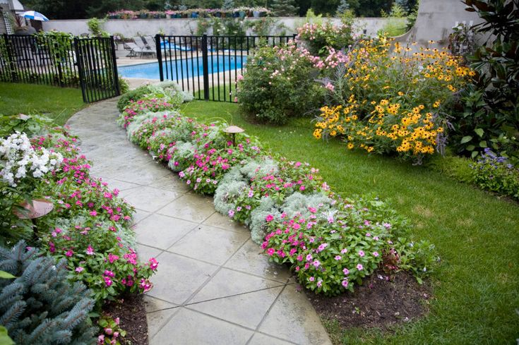 front flower bed ideas florida