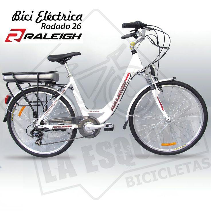 bicicleta electrica - raleigh dama rodado 28