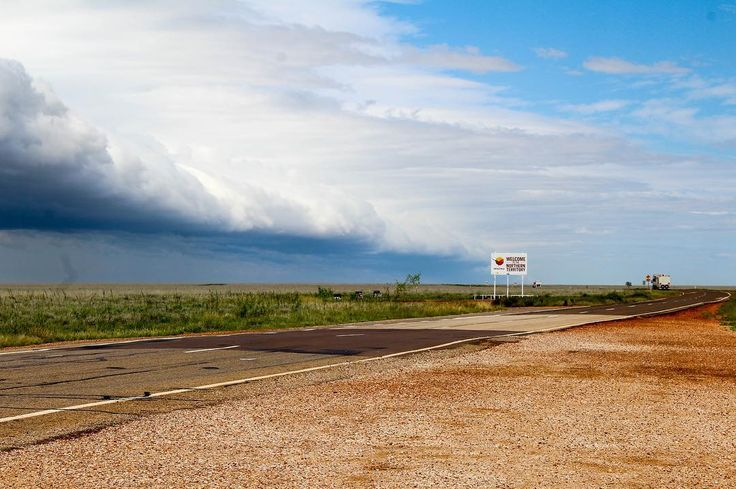 Just crossed the border into Queensland. But looking at that #northernterritory sky we're tempted to turn around  . . . . . . #dothent #cloudporn #roadtrip #vanlifeadventures #bordercrossing #skylovers #visitcentralaus #downunder #seeaustralia #australia #australiagram #cuinthent #highway #roadtripoz #homeiswhereyouparkit