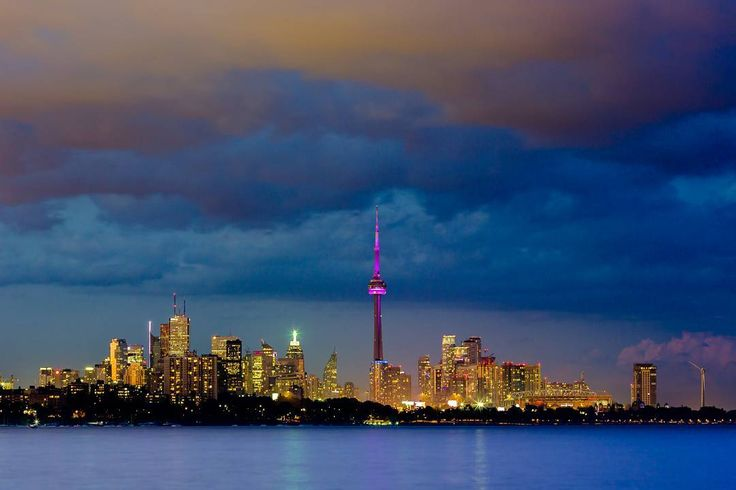 Spectacular view of the #cntower #toronto from #humberpark. The little secrets hidden along the The Trans Canadian trail @tctrail.  Shot with #canon 5d mark III  canon 16 - 35 f2.8L II on a #mefoto #globetrotter tripod.  To reach this spot before the #canadaday150 fireworks and before the crowd takes over all the spots.  I reached this location 4 hours before the fireworks were scheduled to begin.  Sat on a hard rugged rock surrounded by persistent blood sucking mosquitos waiting for the…