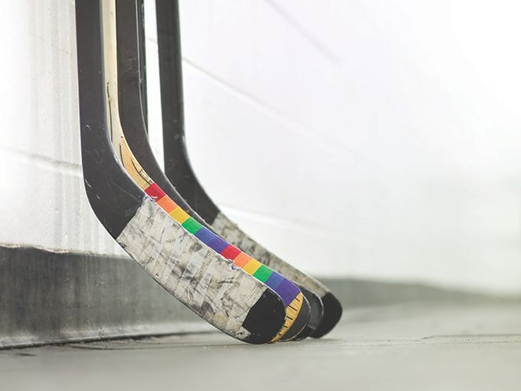 Pride Tape - Hockey tape to support young LGBTQ players project video thumbnail