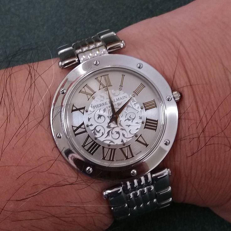 27.12.1998 to 27.12.2017. . .This watch was a wedding present 19 years ago. . . #anniversary  #weddinganniversary  #pierrebalmain #balmain #weddingpresent