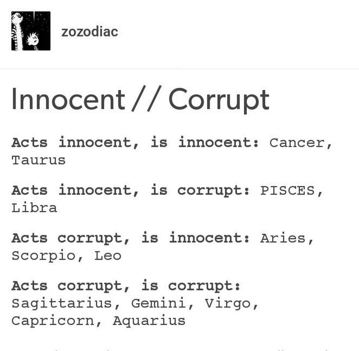 True? ##Zodiac ##Horoscope ##Innocence Follow for more! xD - Tea - Google+