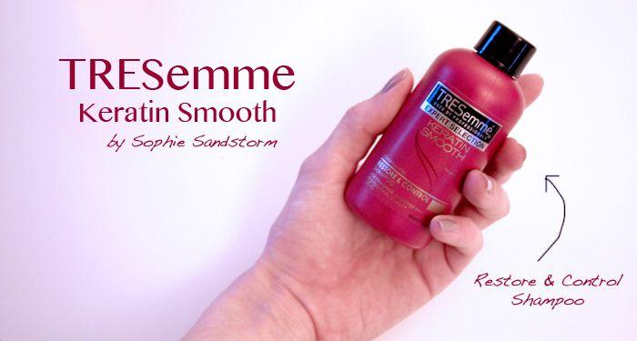 SOPHIE SANDSTORM - Keratin Protein Hair Shampoo - TRESemme http://sophiesandstorm.blogspot.co.uk/2014/07/tresemme-keratin-shampoo-hair-masque.html #hair #keratin #shampoo