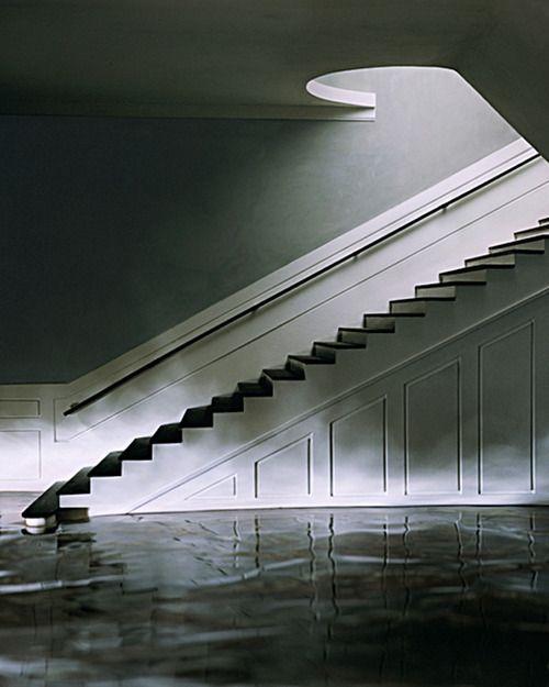 Green Staircase, 2002 James Casebere