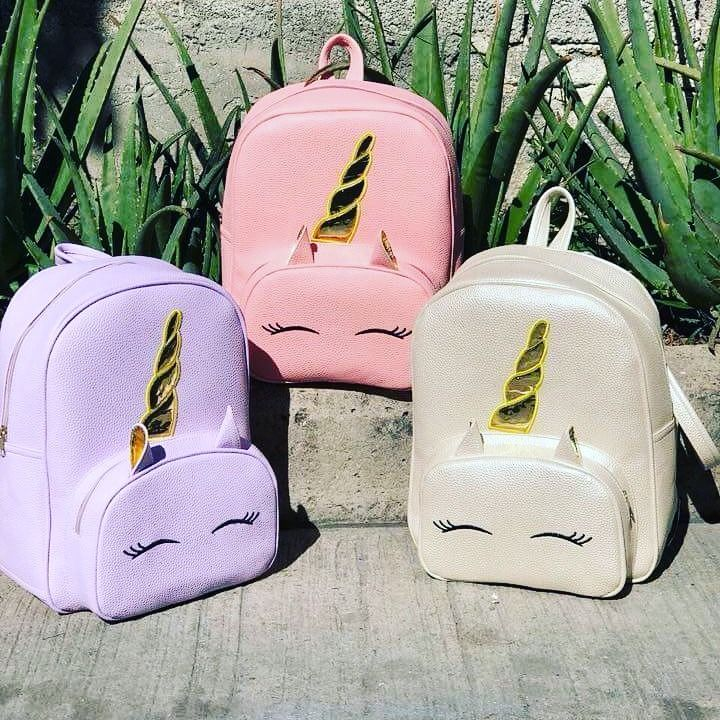 Peque/ñas Unicornio Mochilas Infantil Bolso para Chicas para La Escuela