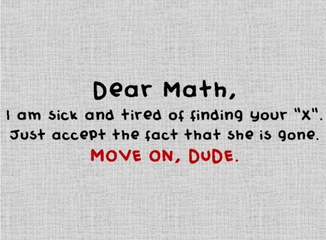 For all the math haters!