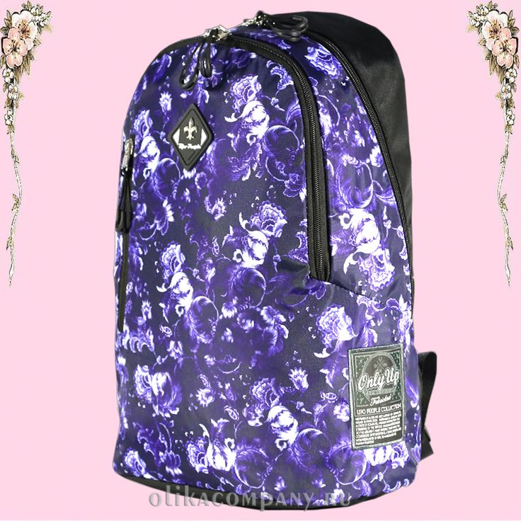 Рюкзак 7911 женский молодежный, размеры 28*15*40 см 1800 руб #сумки #рюкзак #школа #учеба