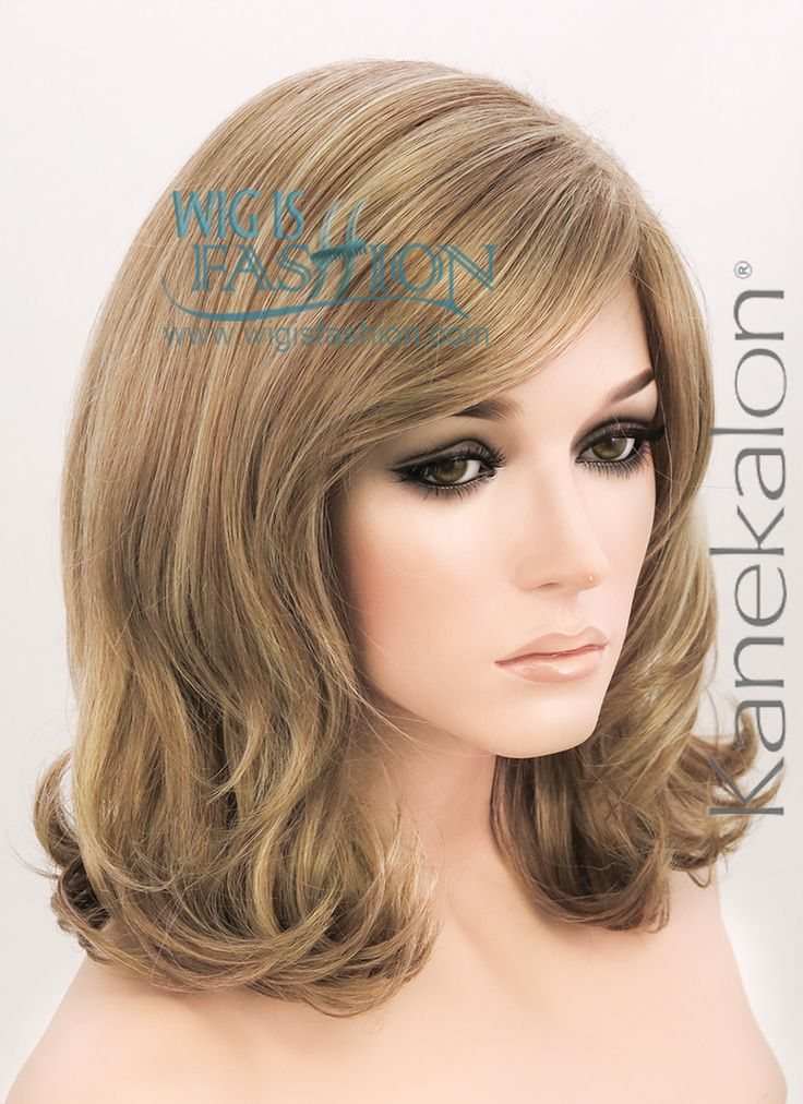 "Something this style but darker? | 18"" Medium Curly Mixed Brown Fashion Synthetic Hair Wig NW054 - Wig Is Fashion"