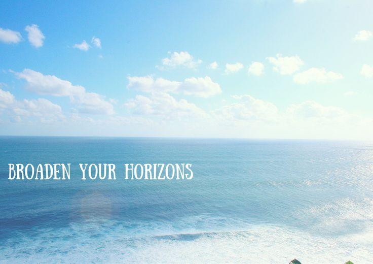 BROADEN YOUR HORIZONS   Travel Inspiration di TheItalianWanderer su Etsy