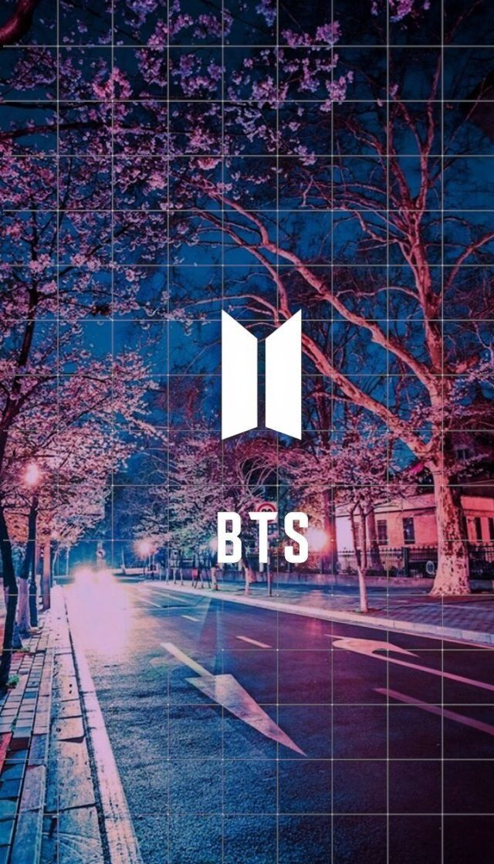 Kpop Wallpapers — BTS new logo lockscreens/ wallpapers like if you...