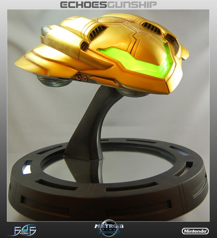 Figures - Metroid - Metroid Prime Echoes Gunship by First4Figures