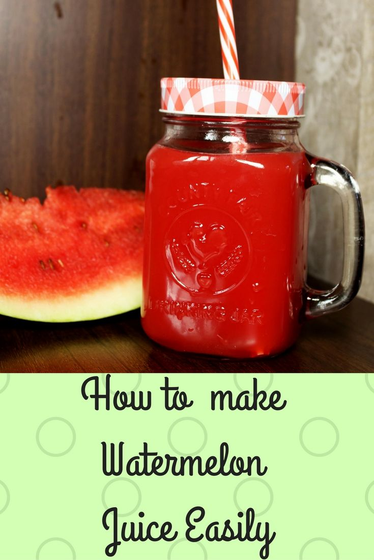 Easiest Recipe to make watermelon juice. Fresh watermelon juice is not only delicious but also what we all love in the summers as the heat absorbs all our energy and watermelon juice hydrates our body since it consists of 92% water. This juice not only provides you with necessary nutrients, minerals and vitamins but also boosts the process of weight loss and is amazing for your skin and hair.