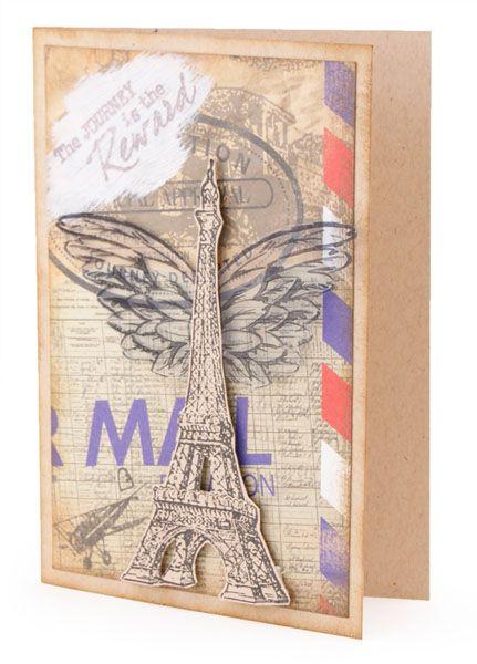 Kaszazz DEM464 French Flair Journey Card87470.jpg (431×600)  By Sharon Edwards Kaszazz Consultant