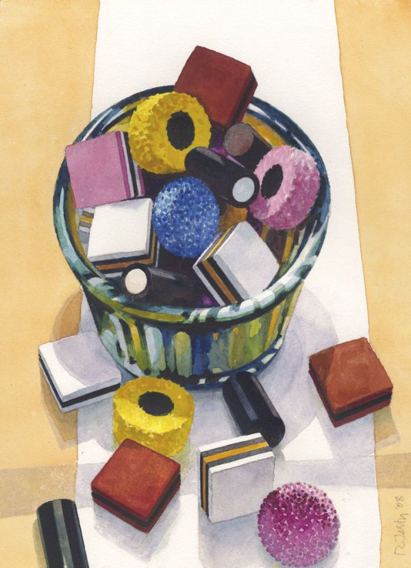 Ronald Jesty | Liquorice Allsorts | http://www.quarrart.com/section90200_154564.html