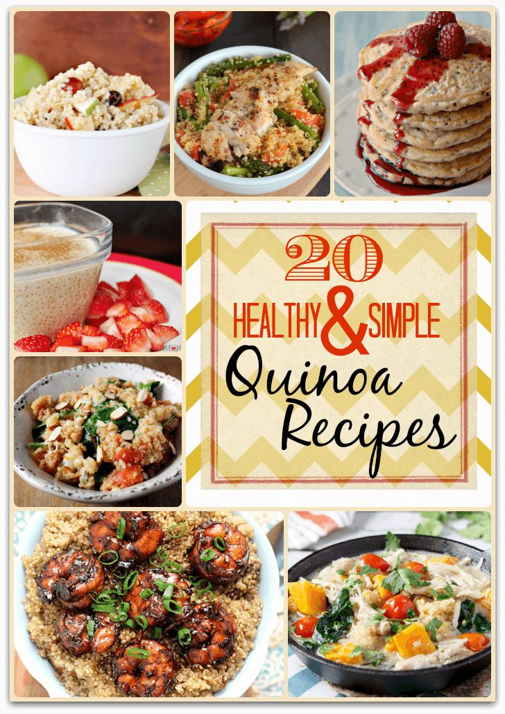 Healthy and Simple Quinoa Recipes