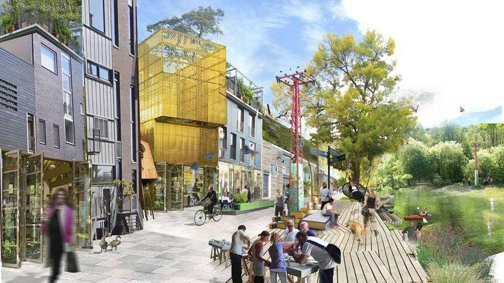 Oslo skal bli høyere, tettere og grønnere