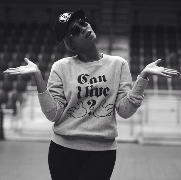 Beyonce // B-side Can I Live Sweatshirt