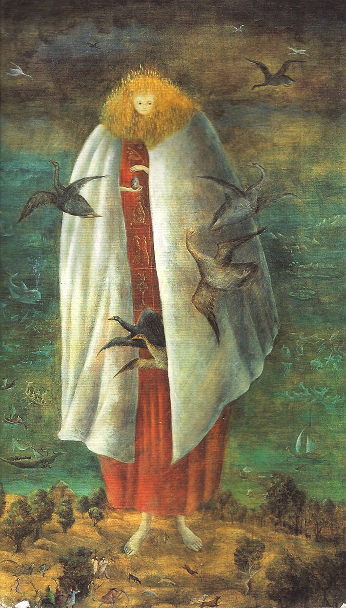 The Giantess by Leonora Carrington- i studied her in college!