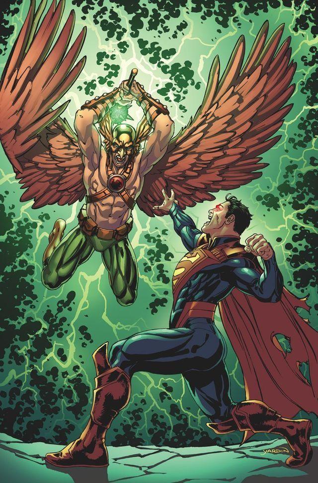 Injustice: Gavião Negro vs. Superman Regime.