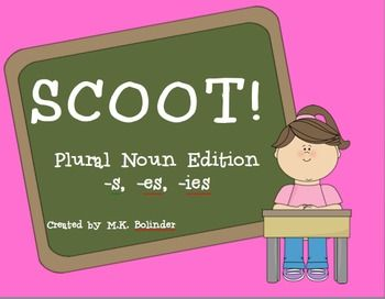 SCOOT! Plural Noun Edition